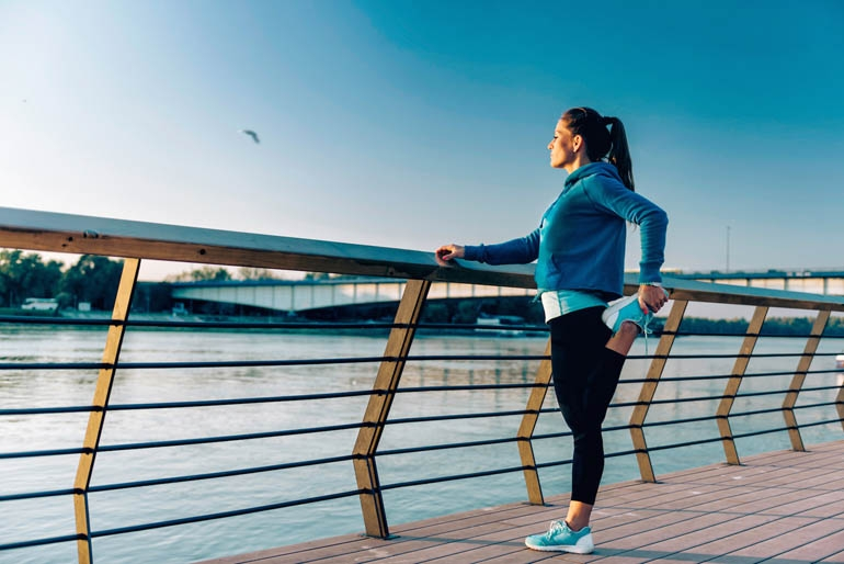 Healthy Living with exercise