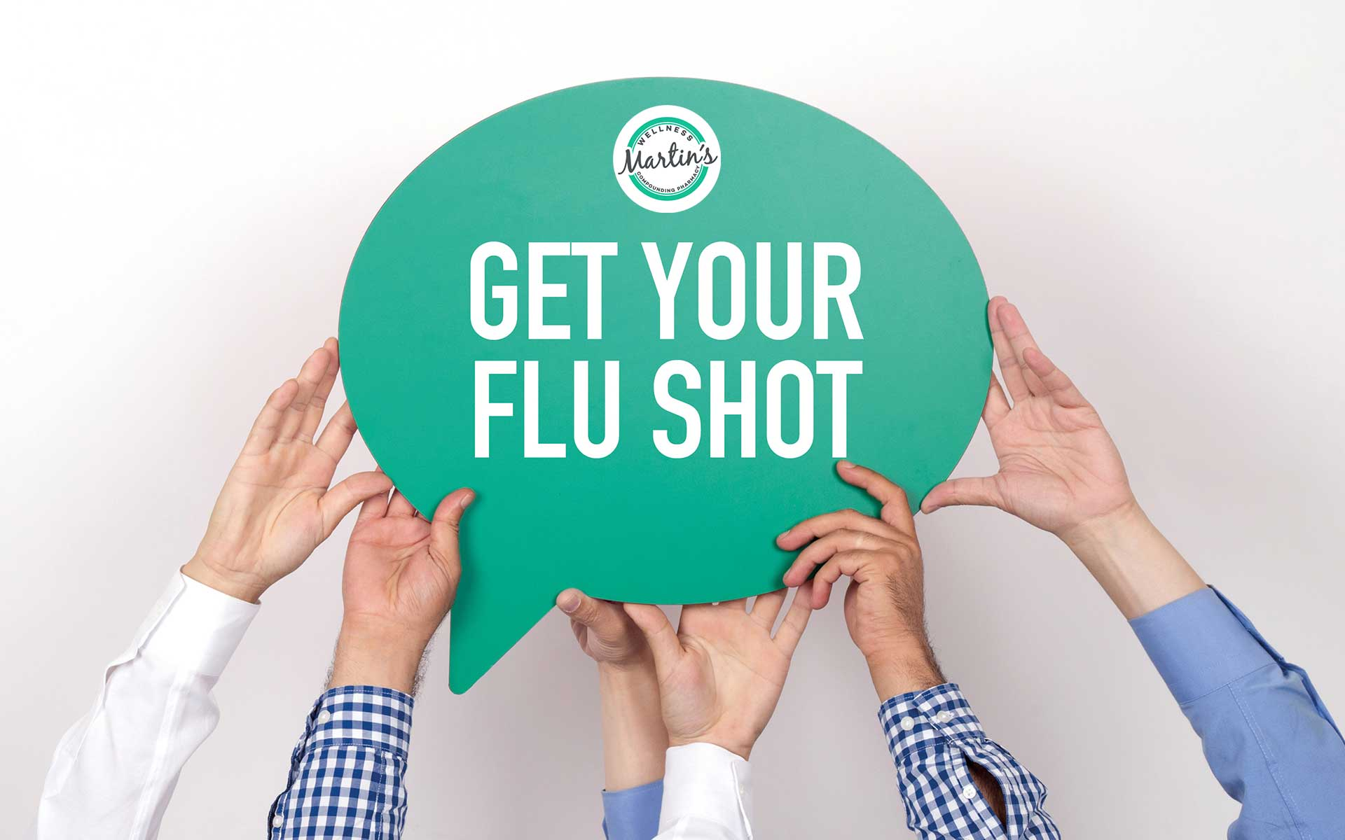 Get Your Flu Shot at Martin's Wellness