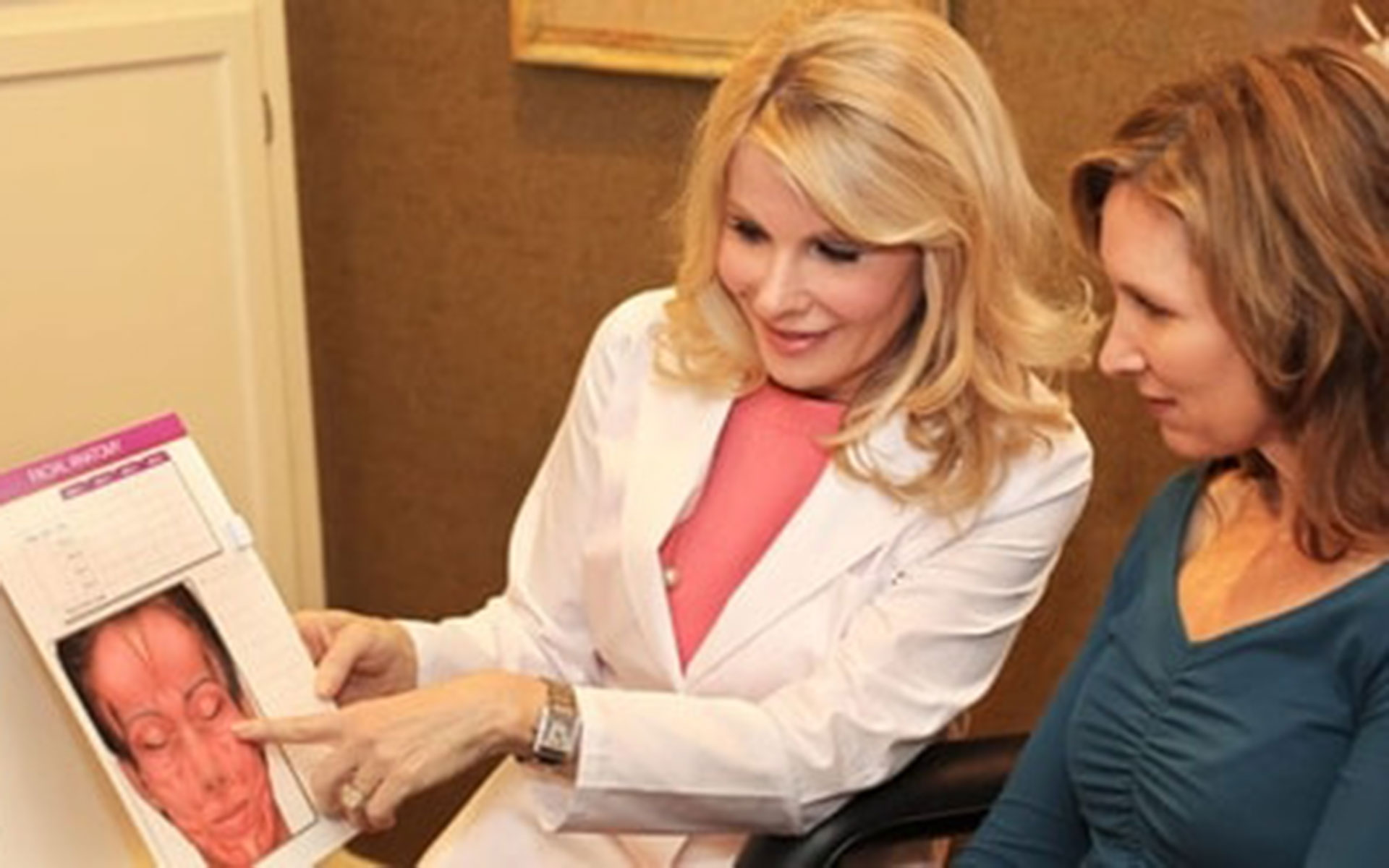 Dr. Ruthie Harper With a Patient