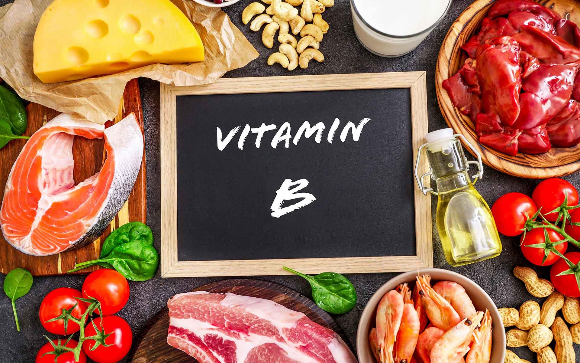 Food rich in B Complex Vitamins