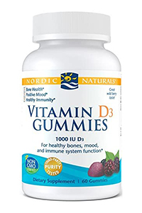 Vitamin D3 Gummies by Nordic Naturals