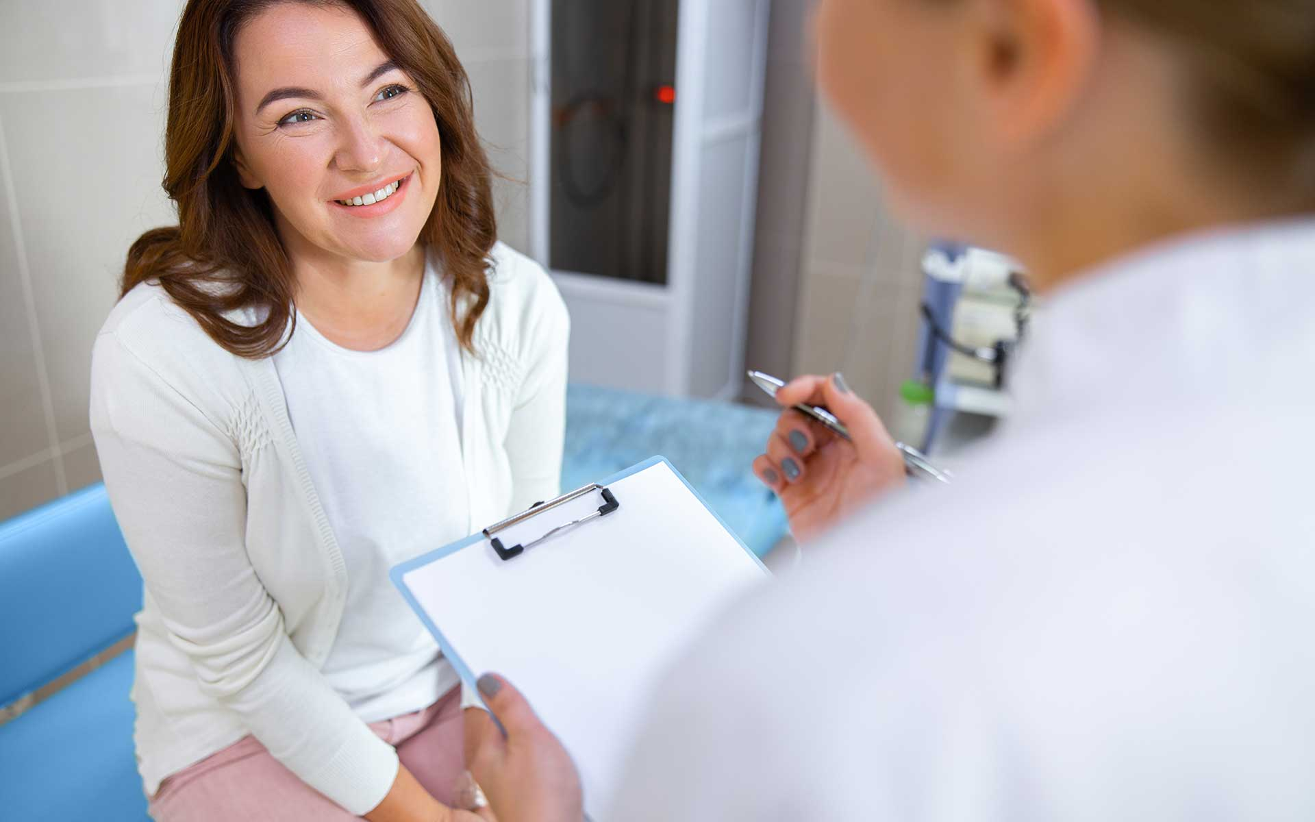 Patient in a Consulting Room
