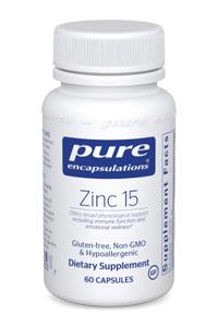 Zinc-15 by Pure Encapsulations
