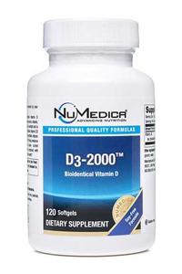 Vitamin D3 2000 by NuMedica