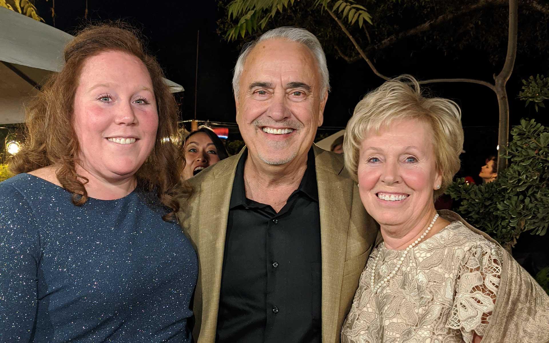 Ashley, Jim and Dorinda