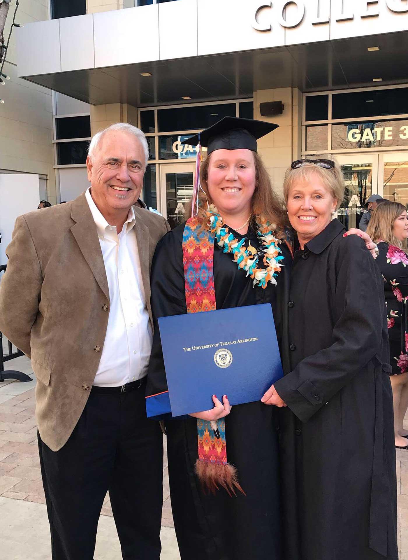 Ashley Nolan graduating
