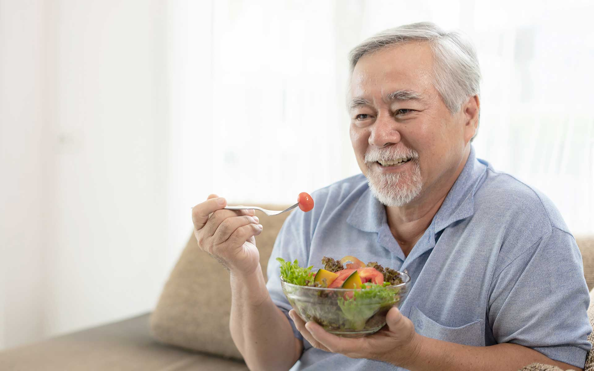 Stress prevention through a healthy diet