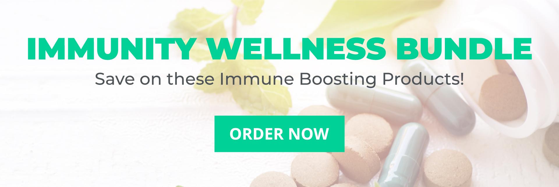 Ordering Immunity Wellness Bundle
