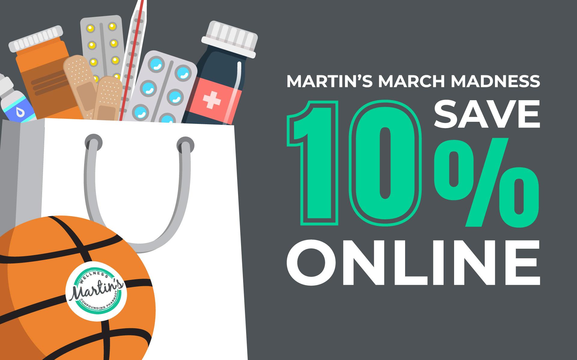Martin's March Madness Graphic