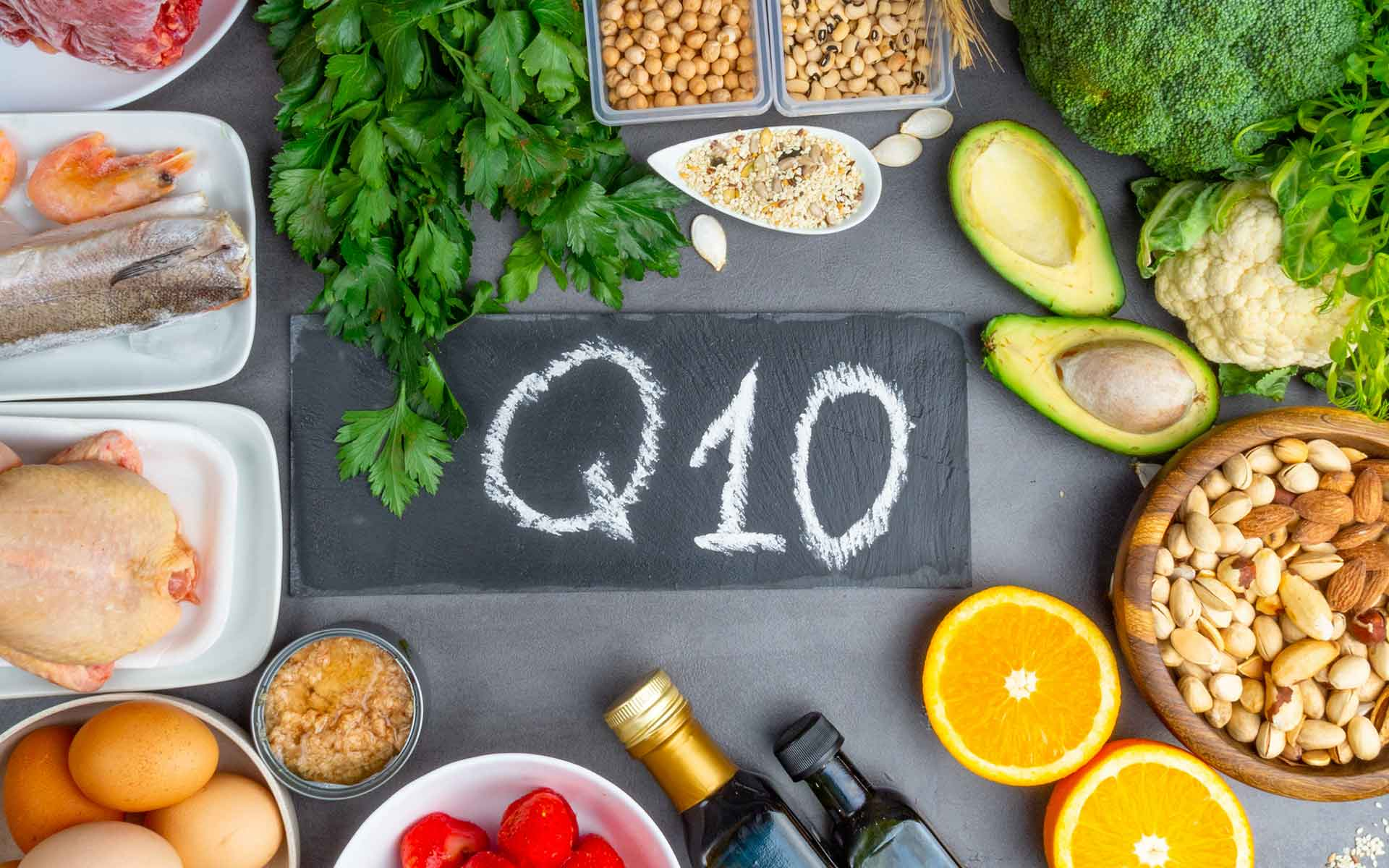Coenzyme Q-10 Foods