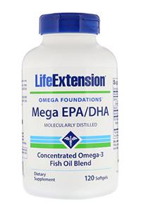 Mega EPA/DHA Omega 3 Fatty Acids Supplement