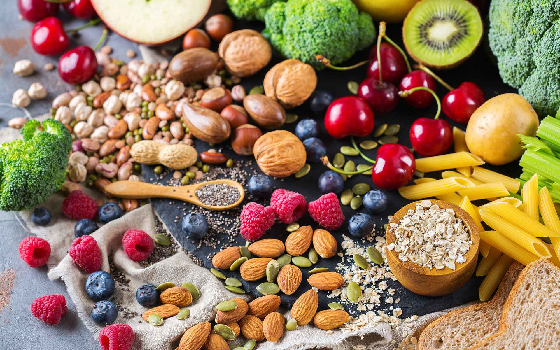 Whole Food - Fruit, Vegetables and Nuts